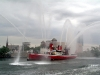 Fireboat John J Harvey  at Vernon Boulevard